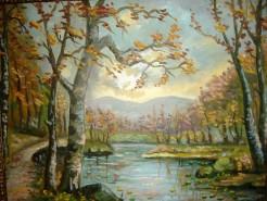 Picturi cu peisaje Toamna 1