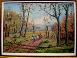 Picturi cu peisaje Toamna Tarzie 03
