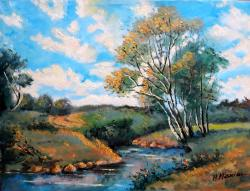 Picturi cu peisaje Zavoi peisaj