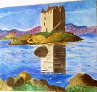 Picturi cu peisaje Castelul