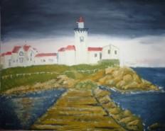 Picturi cu peisaje Castel in mare