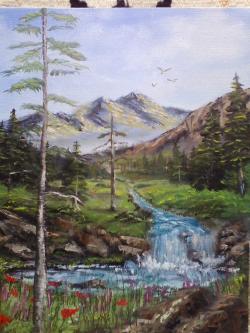 Picturi cu peisaje Doar un Vis