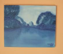 Picturi cu peisaje Monochromie