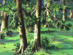 Picturi cu peisaje Padure