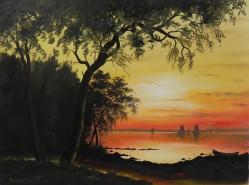 Picturi cu peisaje Amurg