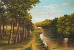Picturi cu peisaje Canalul