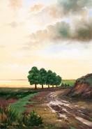Picturi cu peisaje Carare dupa ploaie