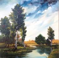 Picturi cu peisaje Colt de natura