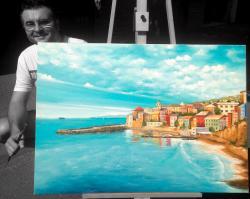 Picturi cu peisaje Destinatii de vis