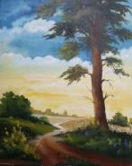 Picturi cu peisaje Pe drumuri...