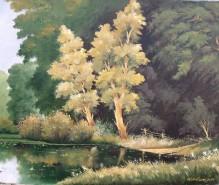 Picturi cu peisaje Pontonul