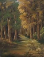 Picturi cu peisaje Prin padure 3