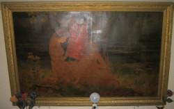 Picturi cu peisaje La rau