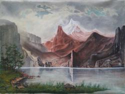 Picturi cu peisaje Muntii Stancosi