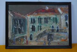Picturi cu peisaje Casa venetiana Sighisoara