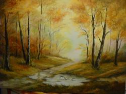 Picturi cu peisaje frumusetile toamnei