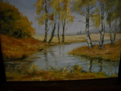 Picturi cu peisaje Peisaj de toamna 2