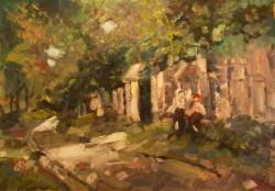 Picturi cu peisaje Tarancute la poarta