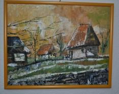 Picturi cu peisaje La tara
