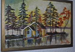 Picturi cu peisaje Lacustra