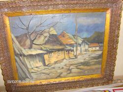 Picturi cu peisaje peisaj de ulita baimareana