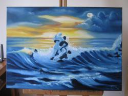 Picturi cu peisaje Spuma de mare