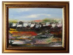 Picturi cu peisaje DIN CICLUL PEISAJE RURALE V