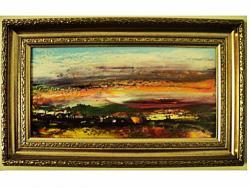 Picturi cu peisaje PEISAJ RURAL inramat
