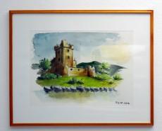 Picturi acuarela Cetatea