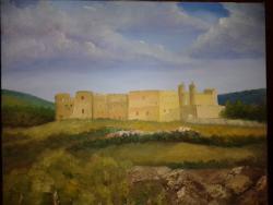 Picturi cu peisaje Castelul din Siguenza