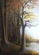 Picturi cu peisaje Colt de padure