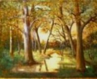 Picturi cu peisaje Padure baltita