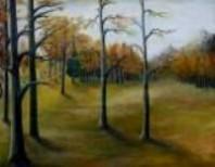 Picturi cu peisaje Padure toamna 2