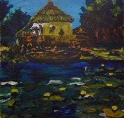 Picturi cu peisaje Delta Dunarii