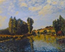 Picturi cu peisaje Reproducere Alfred Sisley