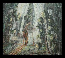 Picturi surrealism Tablou 11 (Noapte)