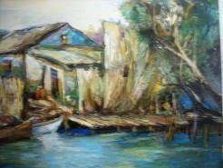 Picturi cu peisaje Delta 1