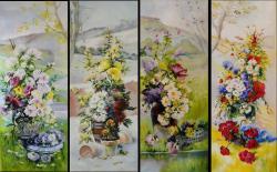 Picturi cu peisaje Anotimpurile