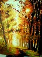 Picturi cu peisaje Buna dimineata natura