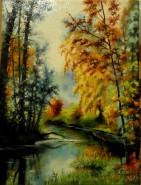 Picturi cu peisaje Parc -2013