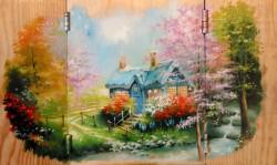 Picturi cu peisaje Poveste...