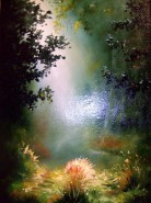 Picturi cu peisaje Raza de soare