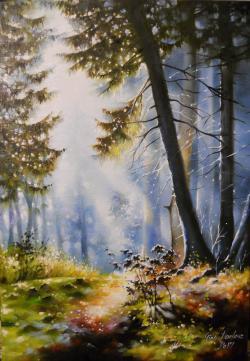 Picturi cu peisaje sunshine 2