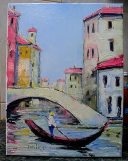 Picturi cu peisaje venezia pj