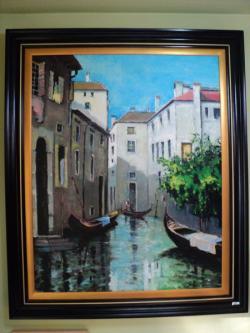 Picturi cu peisaje venezia umbra si lumina