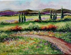 Picturi cu peisaje Din departari