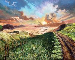 Picturi cu peisaje Spre abis