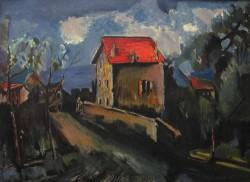 Picturi cu peisaje Drumul spre casa