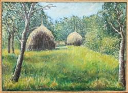 Picturi cu peisaje Livada de meri