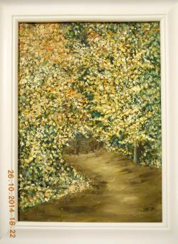 Picturi cu peisaje Toamna la Coronini